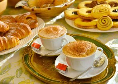 Cappuccino italiano BnB Casa dei Tintori