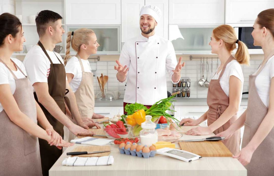 Corsi di cucina con chef
